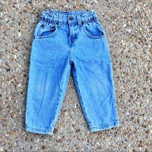 Vintage Levi's Orange Tab Levi's Blue Jeans 2T
